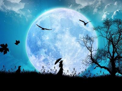 月亮,思念