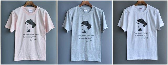 弗吉尼亚·伍尔夫经典肖像T恤