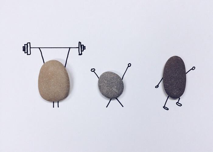 快乐的石头