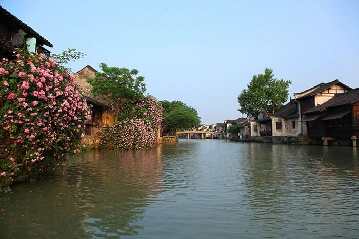 乌镇西市河