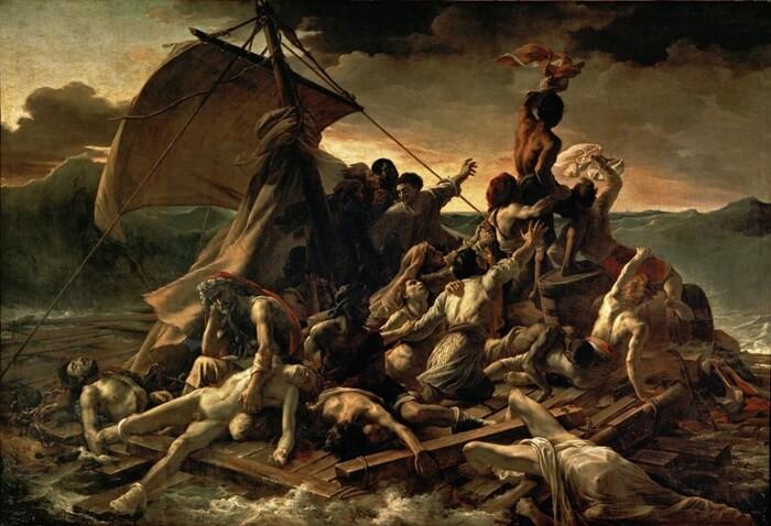 图:席里柯《梅杜萨之筏》