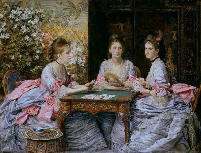 油画作者:John Everett Millais