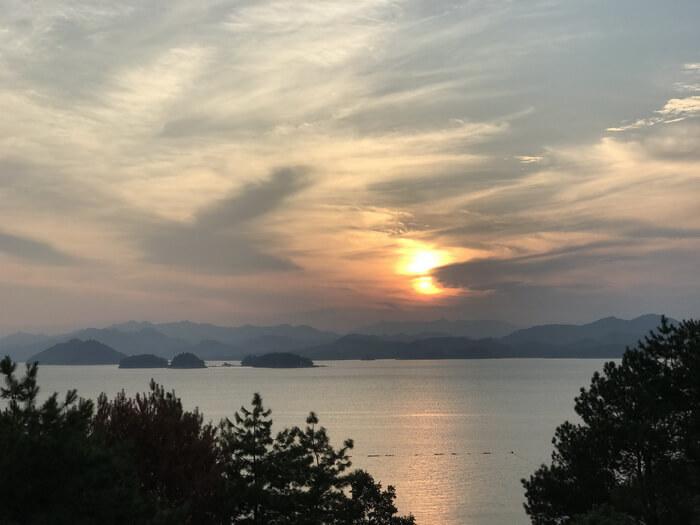 千岛湖的日落©老鬼