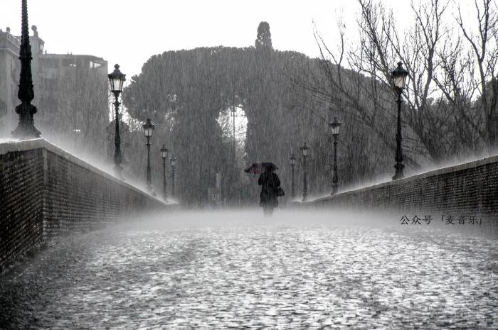 你在雨中等待着我