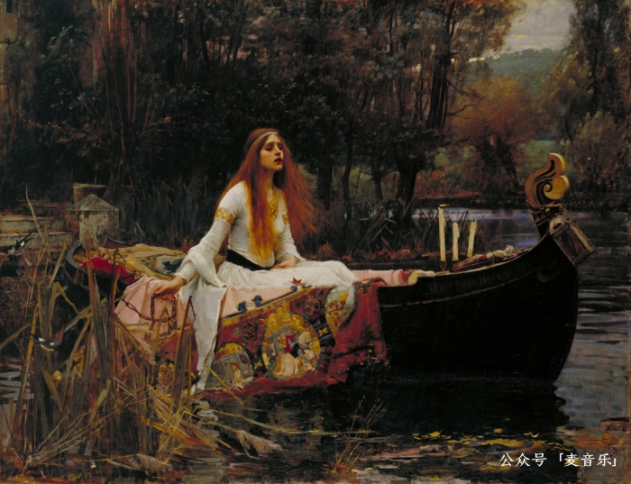 John William Waterhouse's The Lady of Shalott, 1888 (Tate Britain, London)