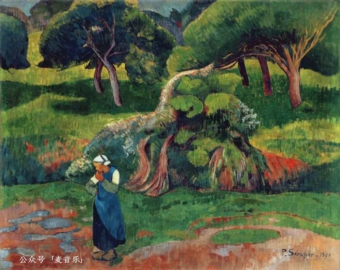 Landscape at Le Pouldu©️Paul Sérusier