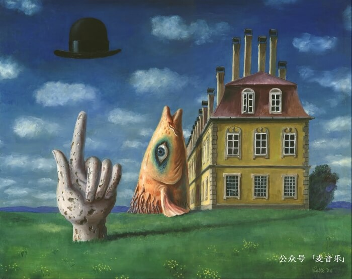 Mr. Magritte's Hat | Wolfgang Lettl