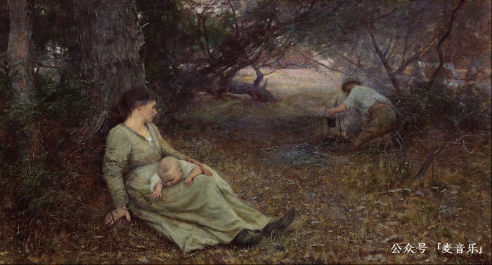 On the wallaby track | Frederick McCubbin