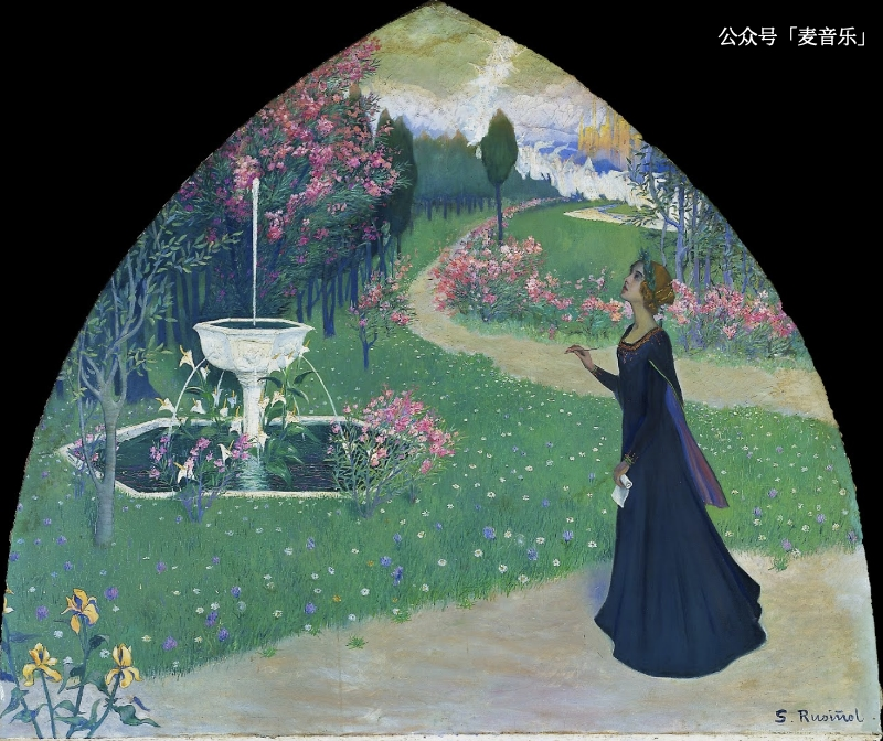 The poetry©️Santiago Rusiñol