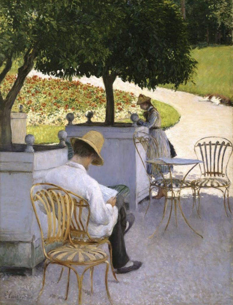 The Orange Trees | Gustave Caillebotte