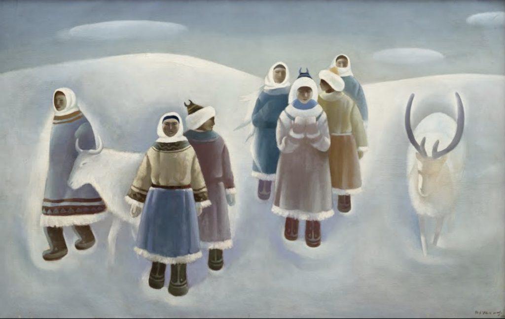 图:《雪》王广义