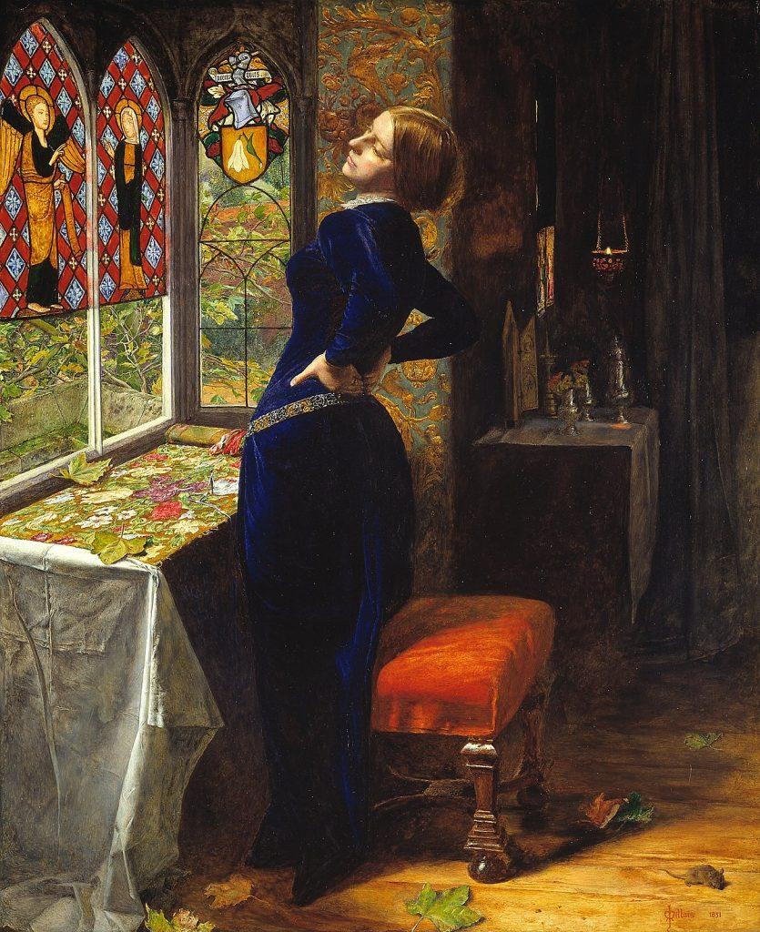 图:Mariana   John Everett Millais