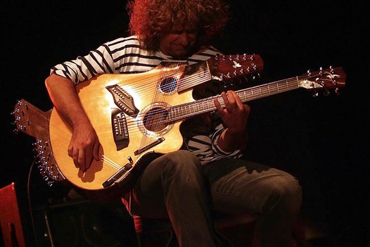 42根琴弦的Pikasso吉他