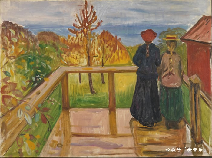 图:Rain | Edvard Munch