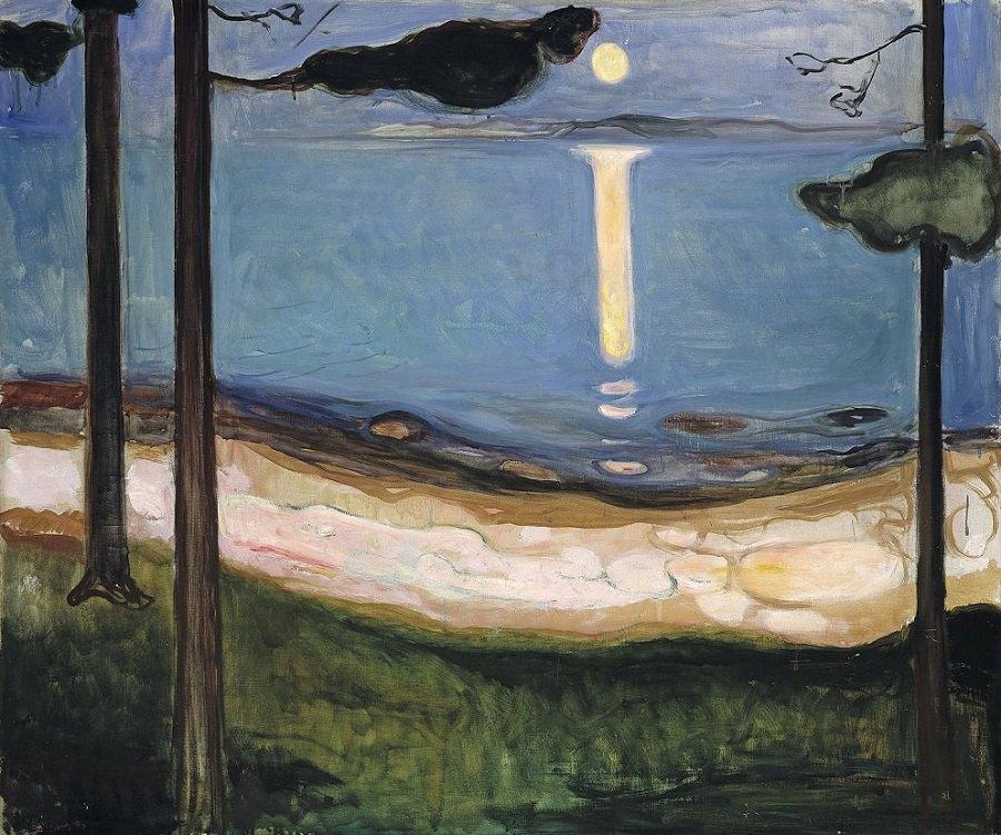 Moon Light | Edvard Munch