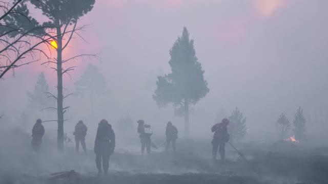 四川大凉山森林火灾