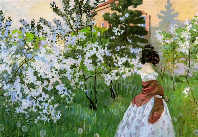 Spring Sun | Victor Borisov-Musatov
