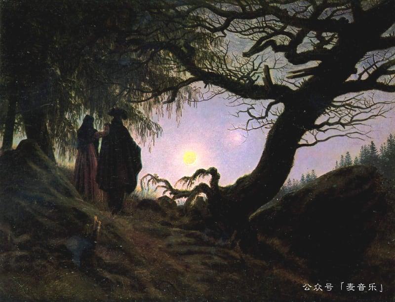 Man and Woman | Caspar David Friedrich
