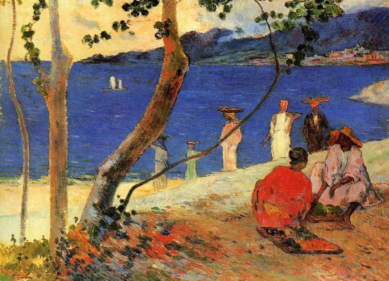 A seashore | Paul Gauguin