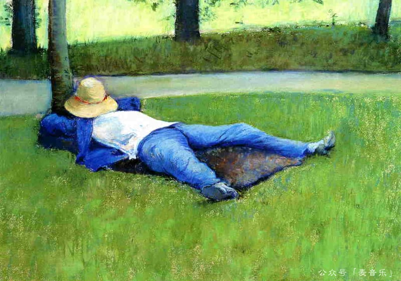 The Nap | Gustave Caillebotte