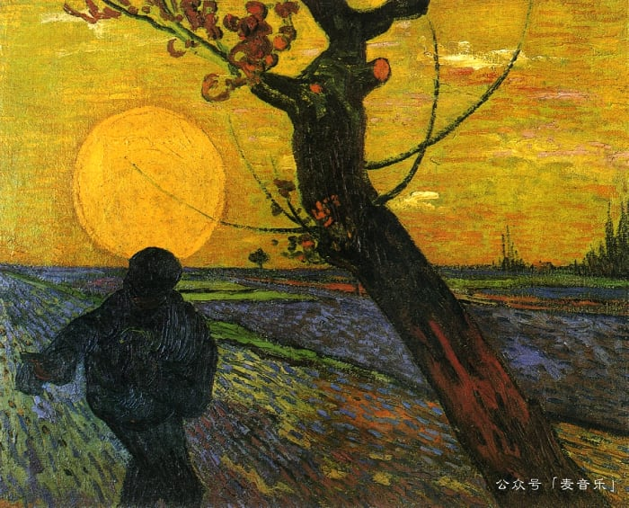Sower with Setting Sun©️Vincent van Gogh