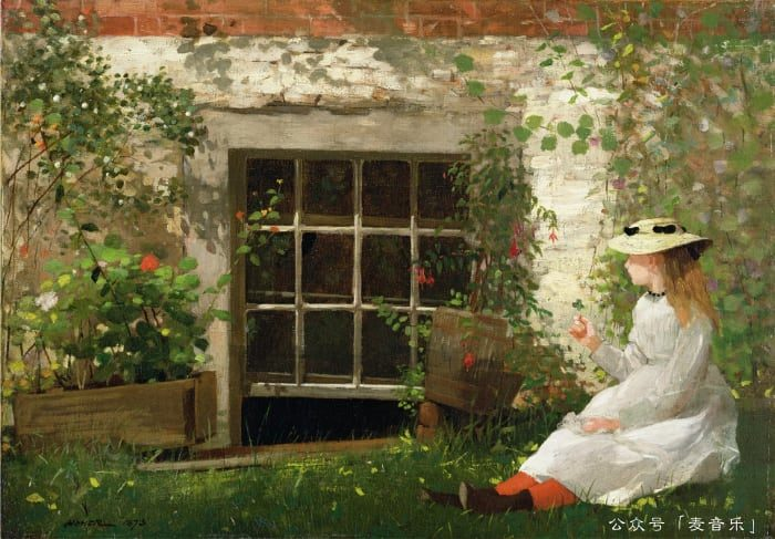 The Four Leaf Clover © Winslow Homer