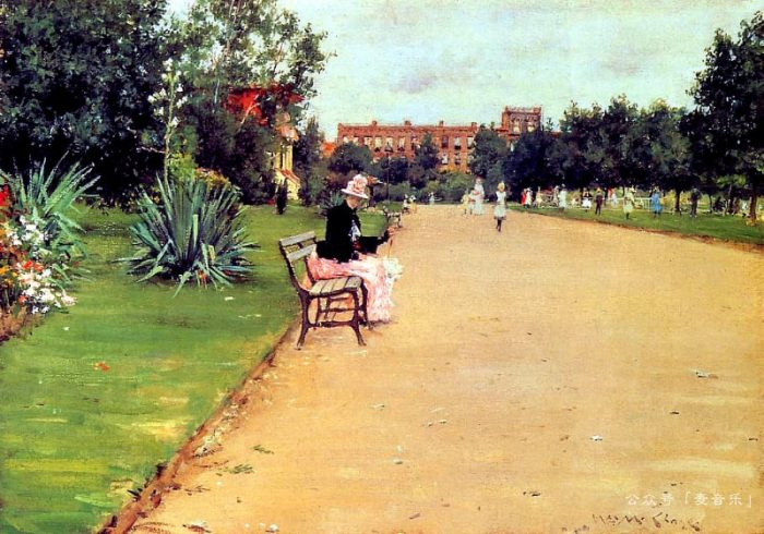 The Park©William Merritt Chase