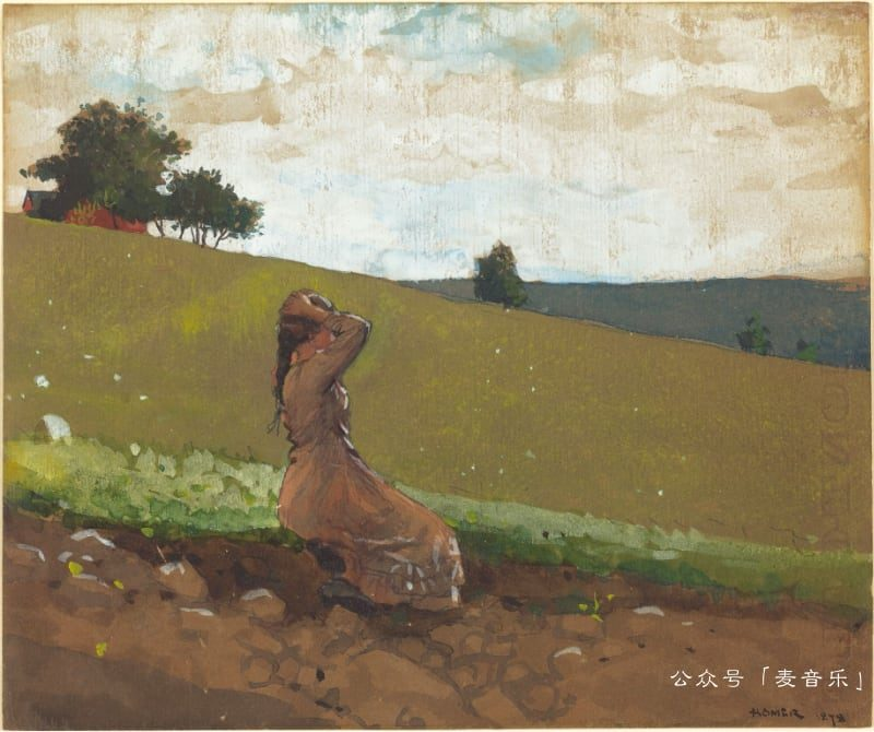 The Green Hill©Winslow Homer