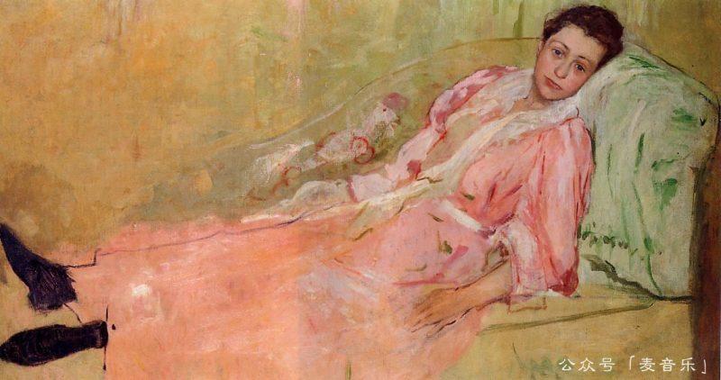 Lydia Reading on a Divan, Mary Cassatt