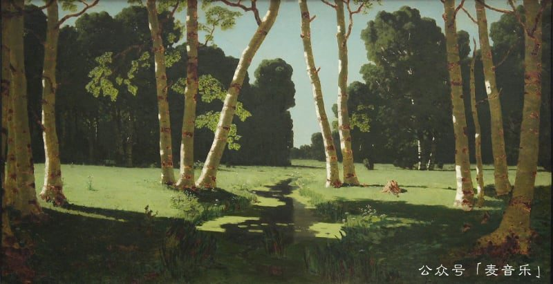 The Birch Grove (1879)-Arkhip Kuindzhi