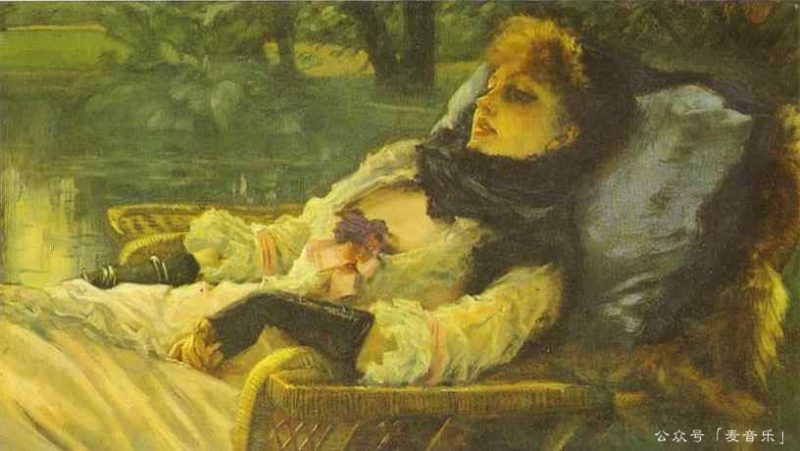 The Dreame, James Tissot