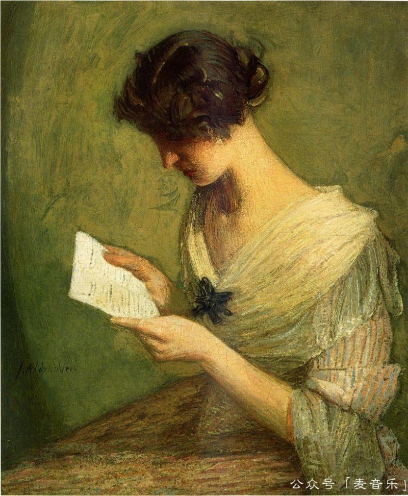 The Letter, Julian Alden Weir