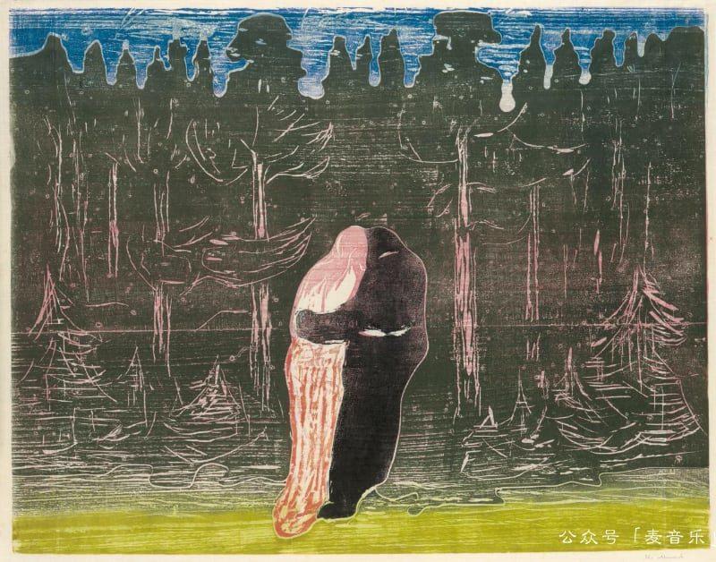 Towards the Forest II,Edvard Munch