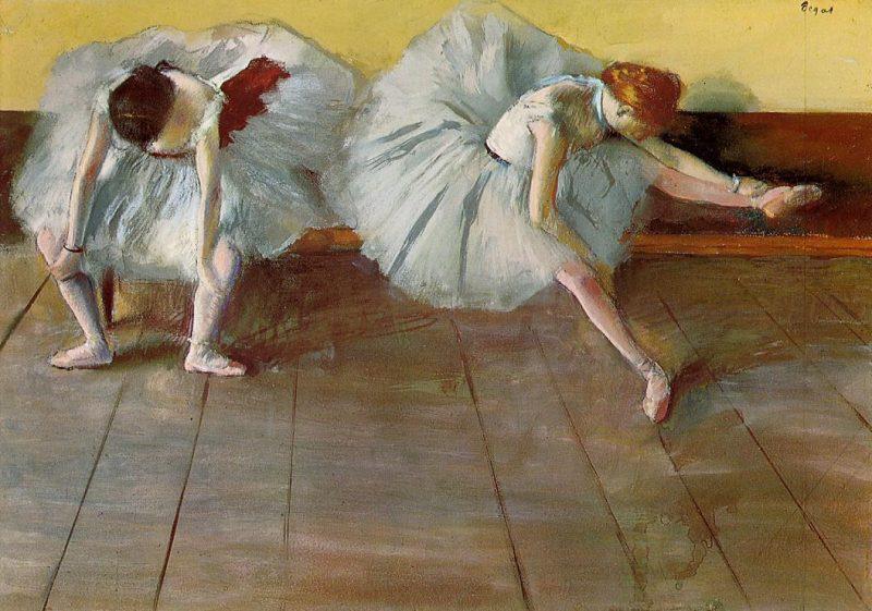 Two Ballet Dancers, Edgar Degas