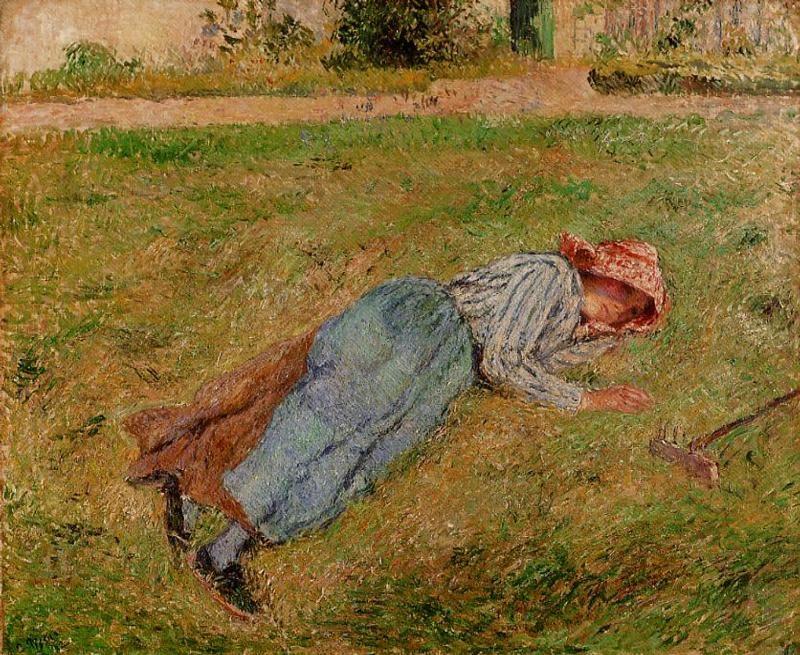 油画/Camille Pissarro