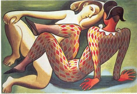 Study for a Theatre Decoration, Jose de Almada-Negreiros