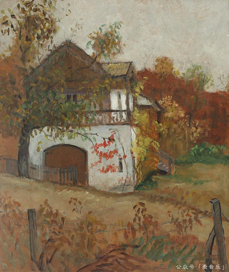 House from Oltenia, Theodor Pallady