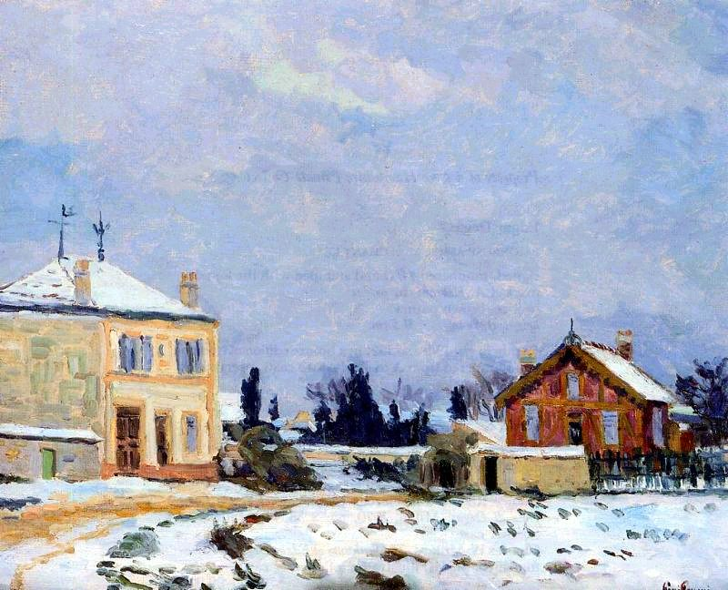 Neige, Armand Guillaumin