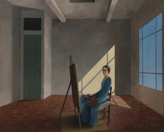 La femme peintre | Pierre Roy