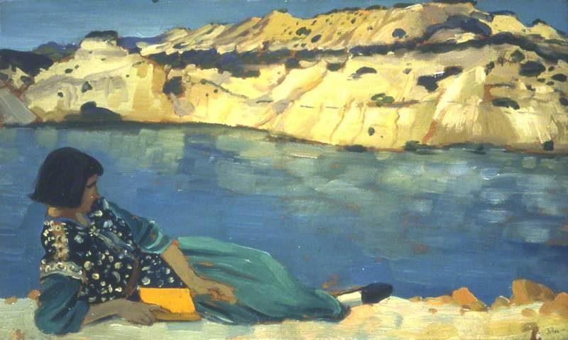 The Blue Pool | Augustus John