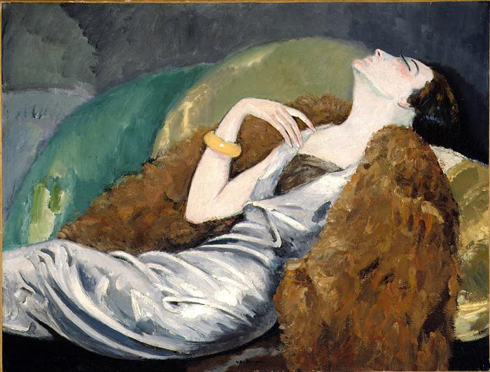 Woman on Sofa | Kees van Dongen