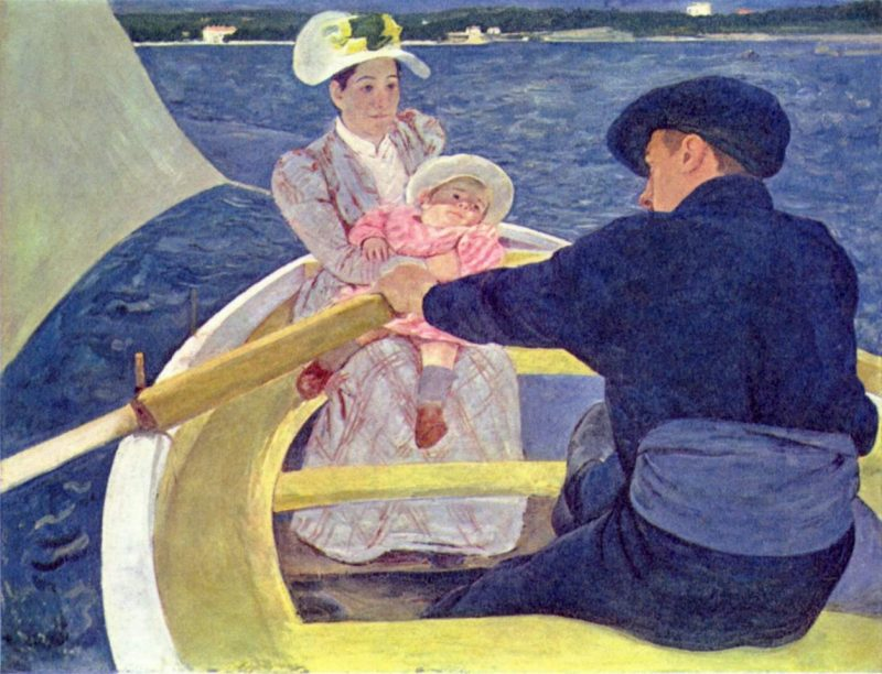 The Boating Party | Mary Cassatt
