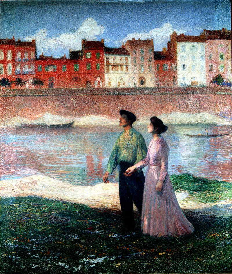 The Lovers | Henri Martin