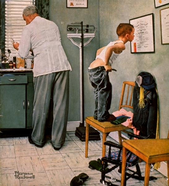 Doctor | Norman Rockwell