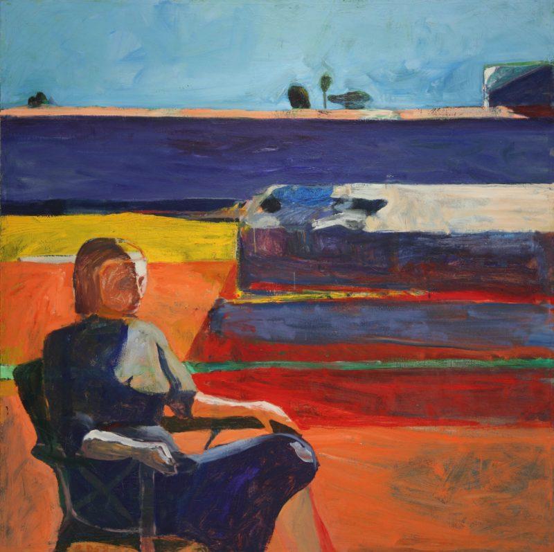 Woman on Porch | Richard Diebenkorn