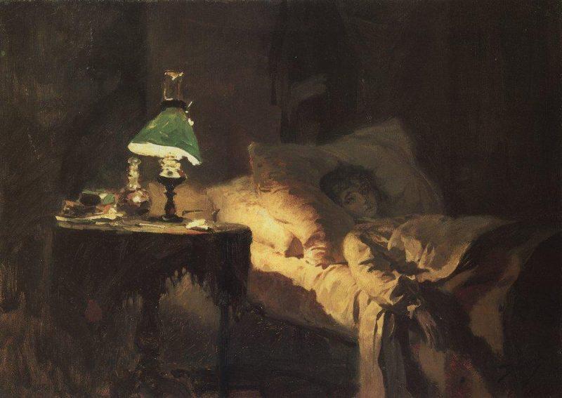 The ill woman | Vasily Polenov