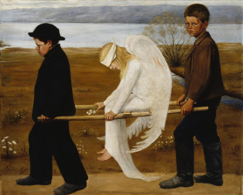 The Wounded Angel | Hugo Simberg