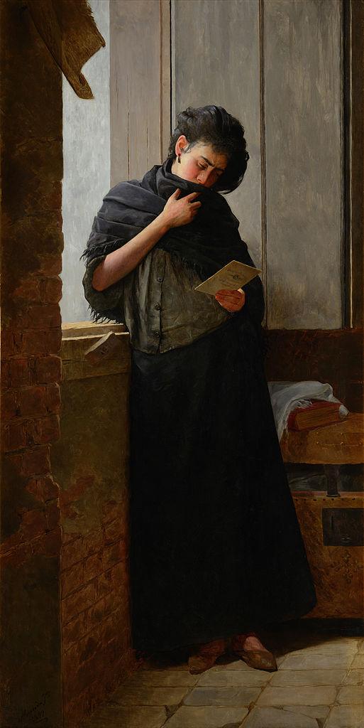 Longing (Saudade), 1899 - Jose Ferraz de Almeida Junior