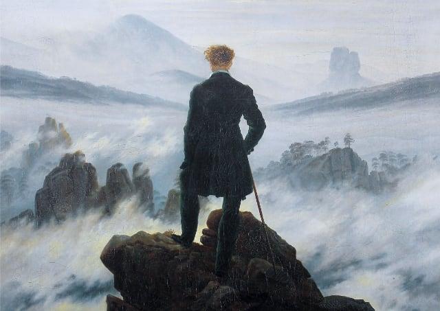 雾海上的旅人 | 弗里德里希