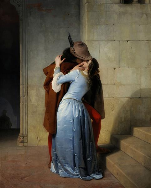 The Kiss, 1859 - Francesco Hayez